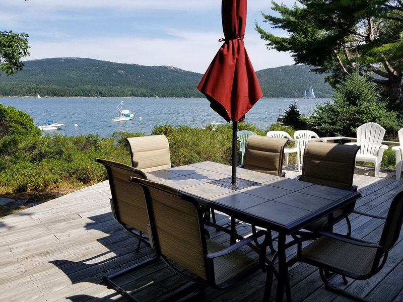 Oceanfront Cottage with incredible views of Acadia National Park, holiday rental in Acadia National Park