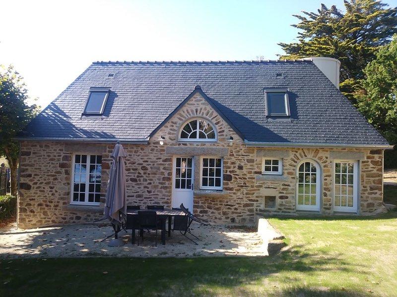 'Villa Dalmore' - Gîte 6 personnes vue mer, holiday rental in Nevez