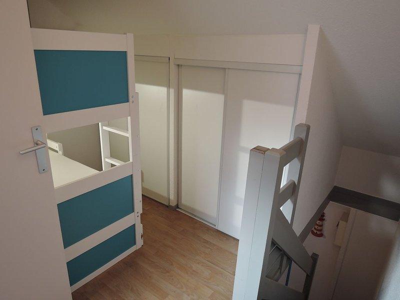 Appartement à Bénodet, Bretagne Sud Duplex max 6 personnes à 100m de la plage, holiday rental in Benodet