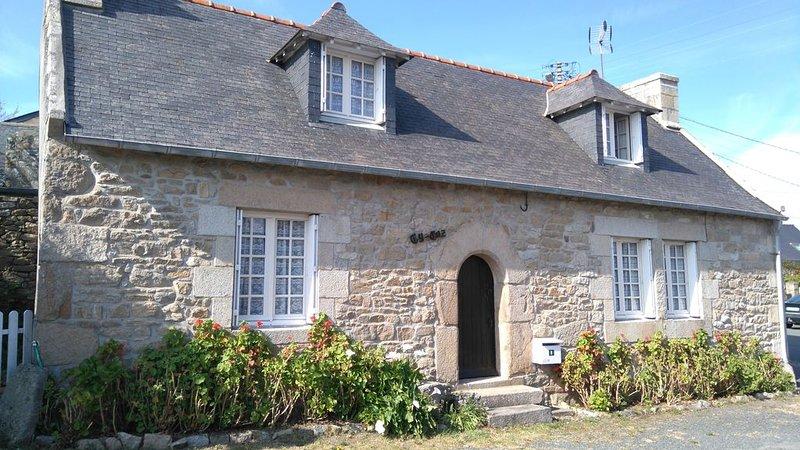 Maison de pêcheur à l'Ile Grande(Pleumeur Bodou) proche mer, casa vacanza a Pleumeur Bodou