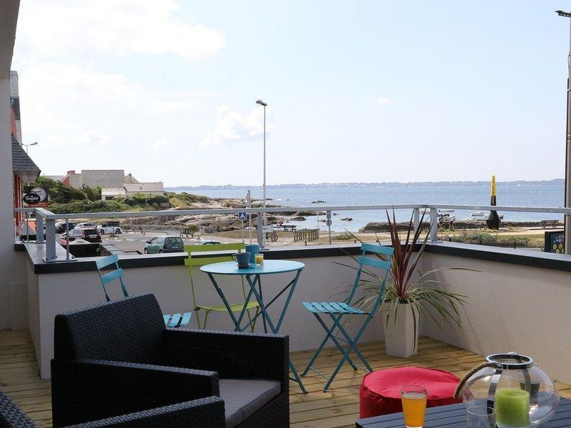 Maison neuve vue sur mer et l'ile de Groix, vacation rental in Ploemeur