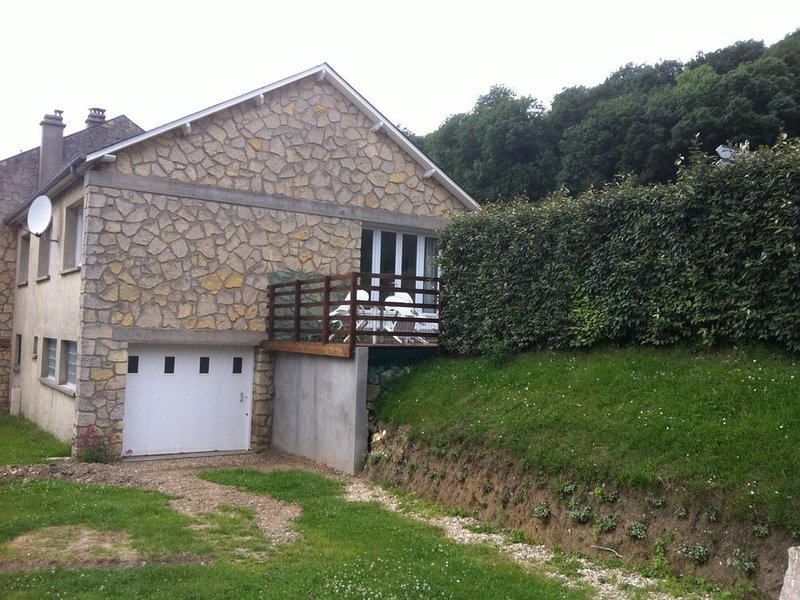 Maison familiale à Veules-les-Roses, holiday rental in Angiens