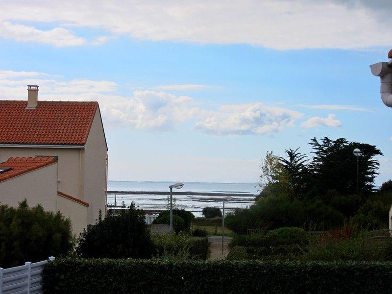 VILLA  VUE SUR MER PROCHE  COMMODITES PLAGES ET PORNIC, holiday rental in La Bernerie-en-Retz