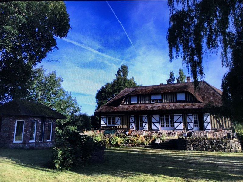 Belle maison Normande spacieuse Proximité des plages, holiday rental in Quiberville