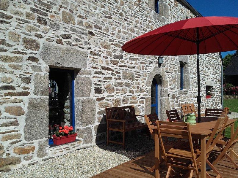 Gîte de caractère entre mer et Monts d'Arrée, holiday rental in Le Cloitre-Saint-Thegonnec