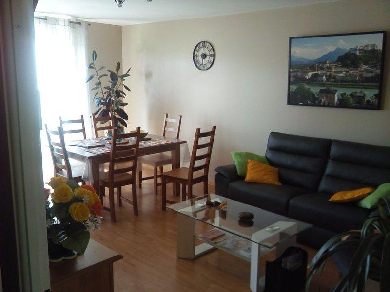 T3 spacieux,au calme, près parc expo et Chantrerie, location de vacances à Le Cellier