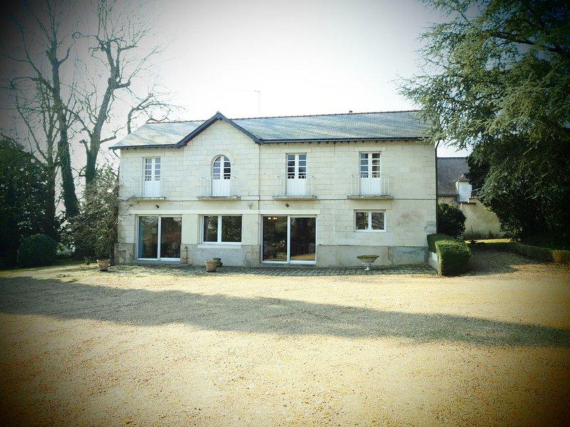 Gite Campagne proche Angers, location de vacances à Grez-Neuville