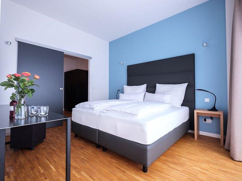 neues vollmöbliertes 2-Zimmer-Appartement mit Küchenzeile, Ferienwohnung in Oberösterreich