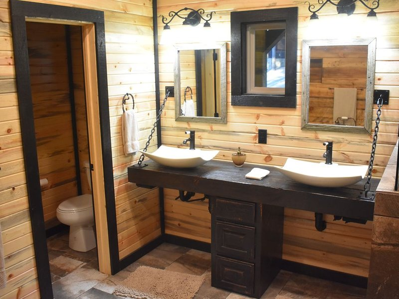 Master Bathroom - Dual Sinks with Private Restroom