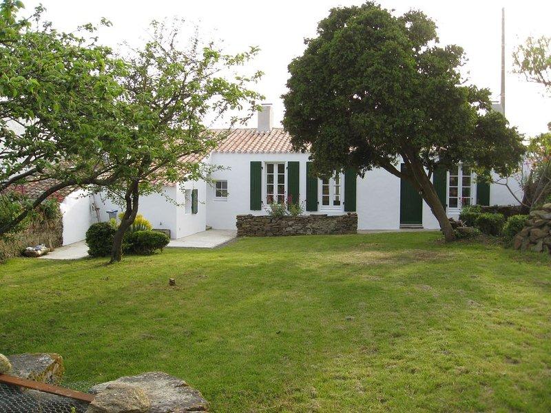 MARY Yeu Une authentique maison de pêcheur rénovée, vakantiewoning in Ile d'Yeu