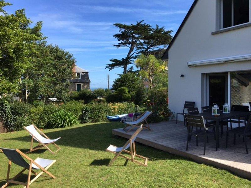 Maison Rothéneuf 100 m. de la plage du Val, aluguéis de temporada em Saint-Malo