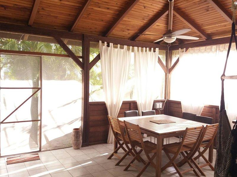 Maison, T4, 60 mètres de la plage, holiday rental in La Pagerie