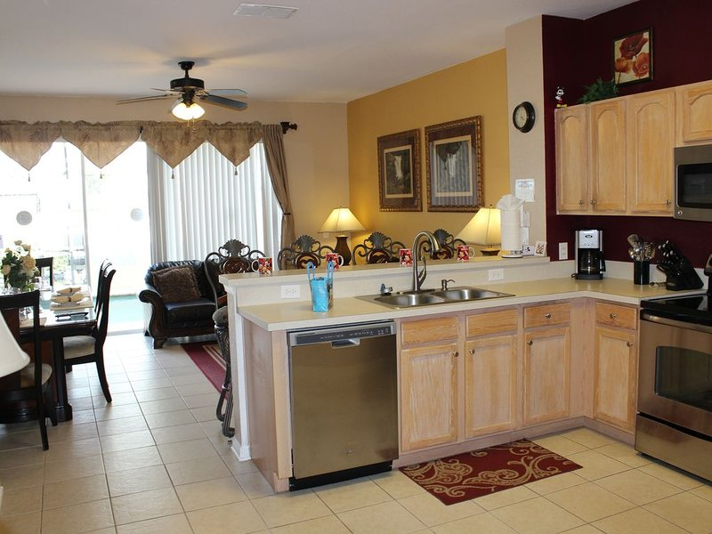 Fully Equipped Kitchen Everything you will need. We have it.