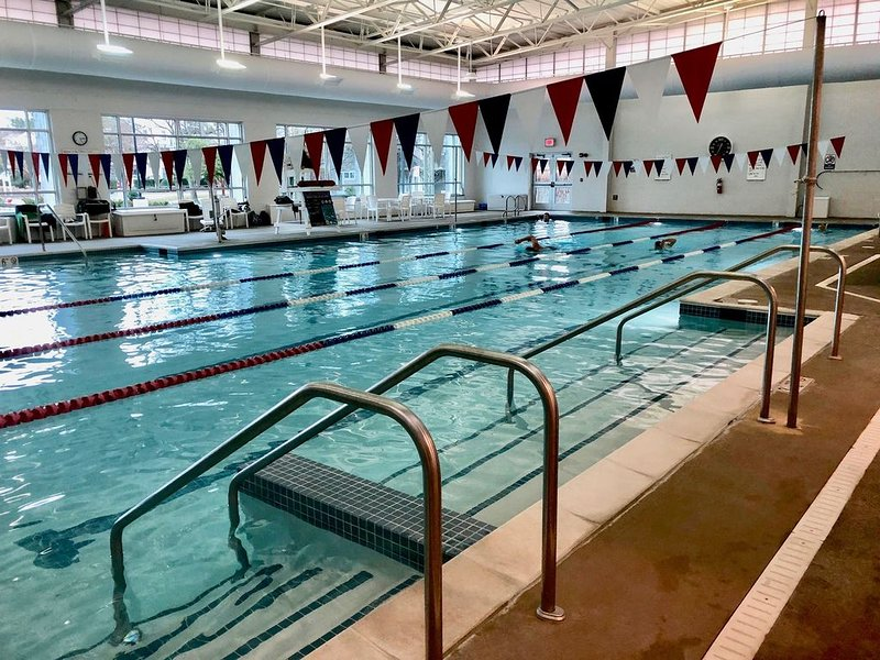 Fitnesscenter simbassäng