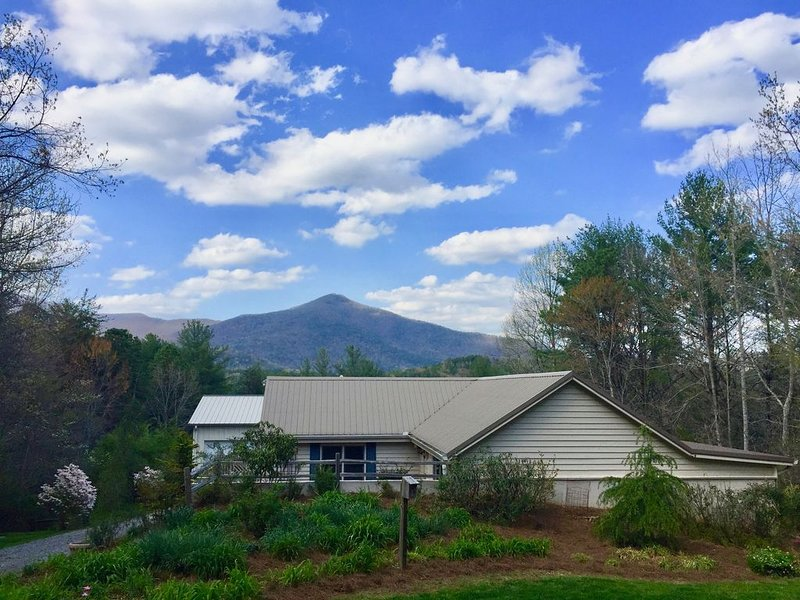 Spectacular Mountain Views of Tray & Chimney Mountains; NO FEES, holiday rental in Sautee Nacoochee