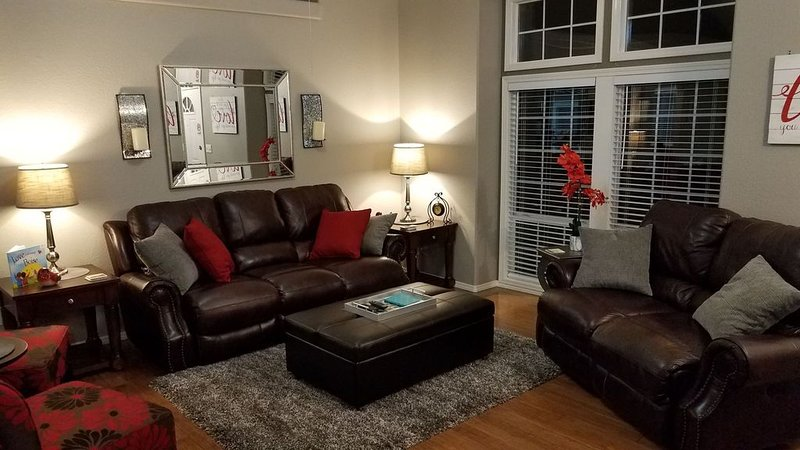 Living Room in the evening