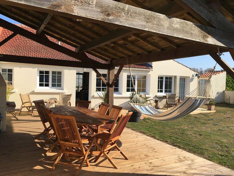 Ma petite cachette, à deux pas de la mer., holiday rental in Saint-Hilaire-de-Riez