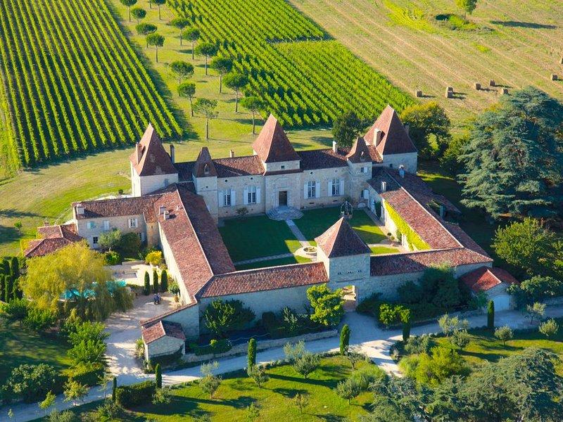 PROMO 25% Château viticole du 17e siècle ( Pool Cottage ) – semesterbostad i Feugarolles