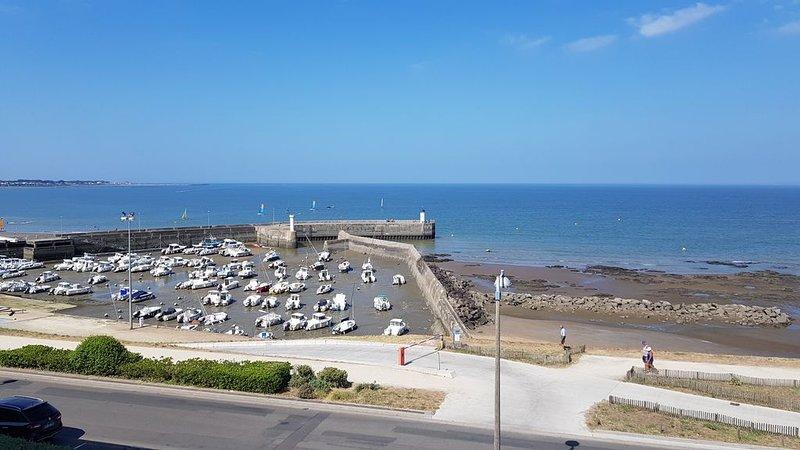 Appartement 2 pièces 55 m² refait à neuf vue sur port et océan 4 couchages., alquiler vacacional en La Plaine-sur-Mer