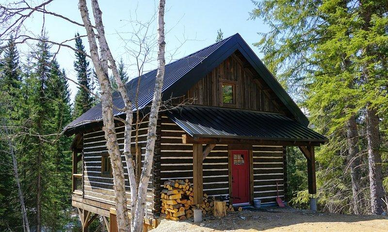 Log Dovetail Bison Cabin - Mountain Life Getaway!, location de vacances à Golden