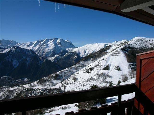 Appartement Alpe d'huez (1860m) - 3 pièces (45 m²) - 6 personnes, sans vis à vis, vacation rental in L'Alpe-d'Huez