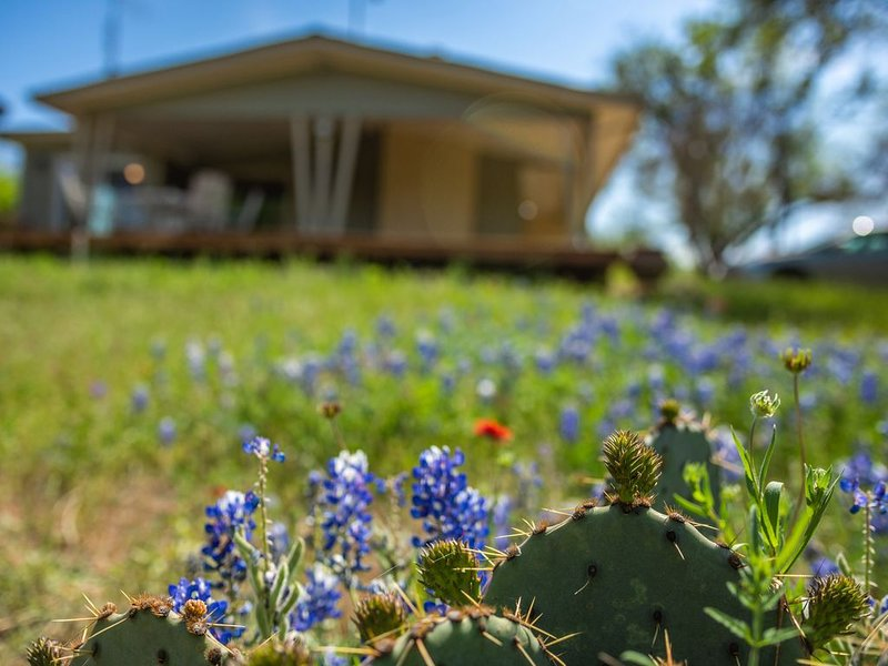 Lakeside Burnet home w/deck surrounded by nature & wildlife, holiday rental in Tow