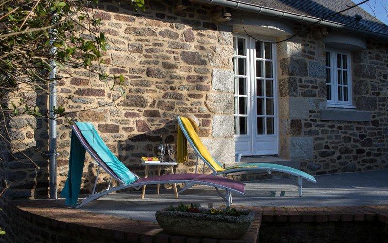 Coté Rance, charmante maison de pays, holiday rental in Lanvallay