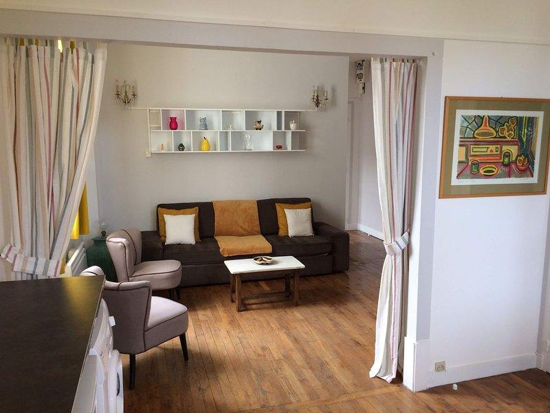 Très bel appartement en bord de plage, vacation rental in Auberville