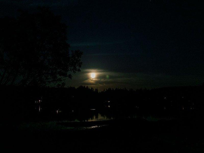 Pleine lune sur la baie de Westcott