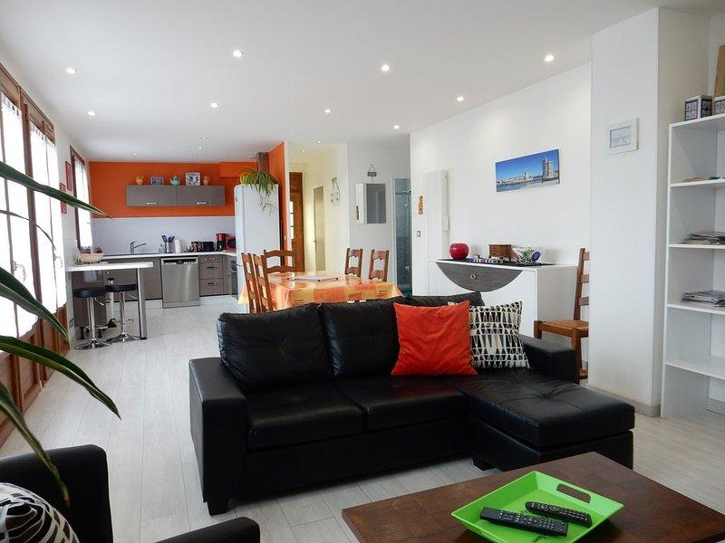 Location Maison de Vacances -6 personnes- 3*** La Rochelle/Périgny, vacation rental in La Jarrie