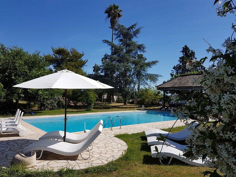 g^te de France 3 épis,3*,en bord de mer avec piscine,prairie et animaux,wifi, location de vacances à Sorbo-Ocagnano