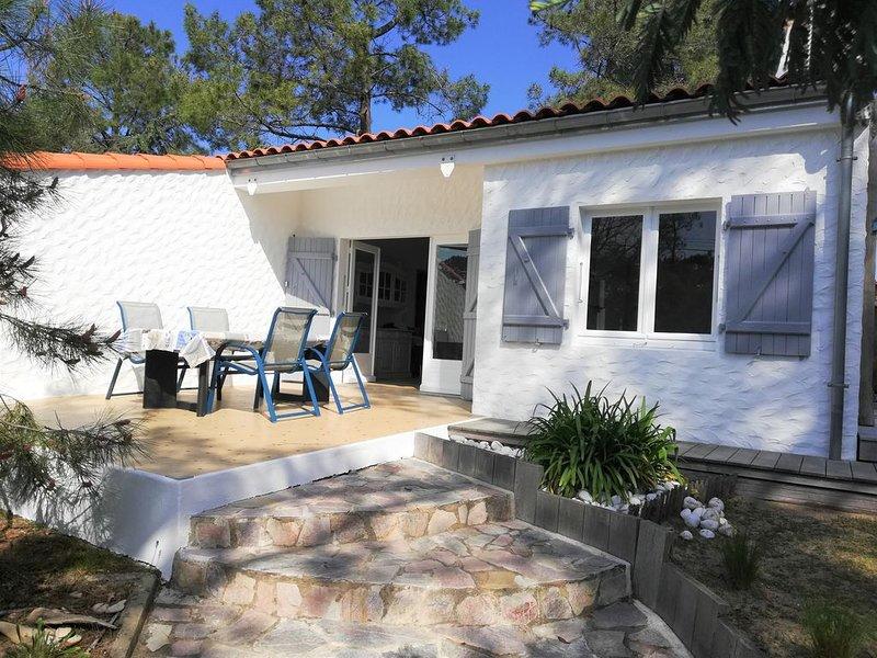 Maison au calme 3 ch, 6 personnes, 400 m de la plage, la Grière, 3 étoiles, holiday rental in La Tranche sur Mer