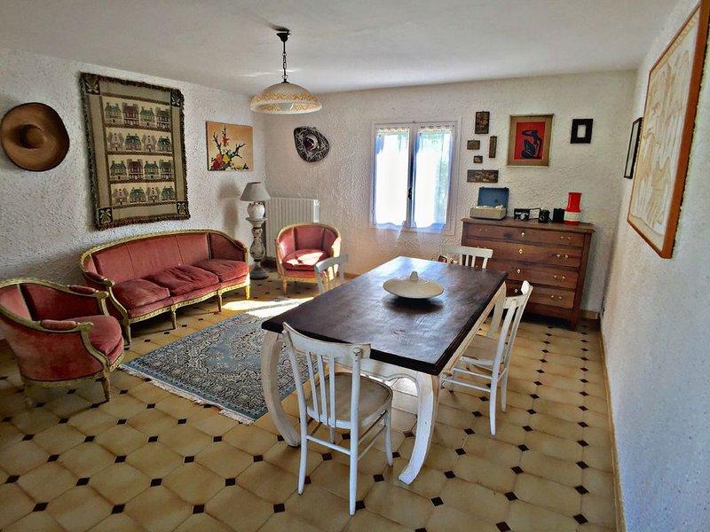 Appartamento nell'aperta campagna del Monferrato con ampio terrazzo, vacation rental in Cantarana