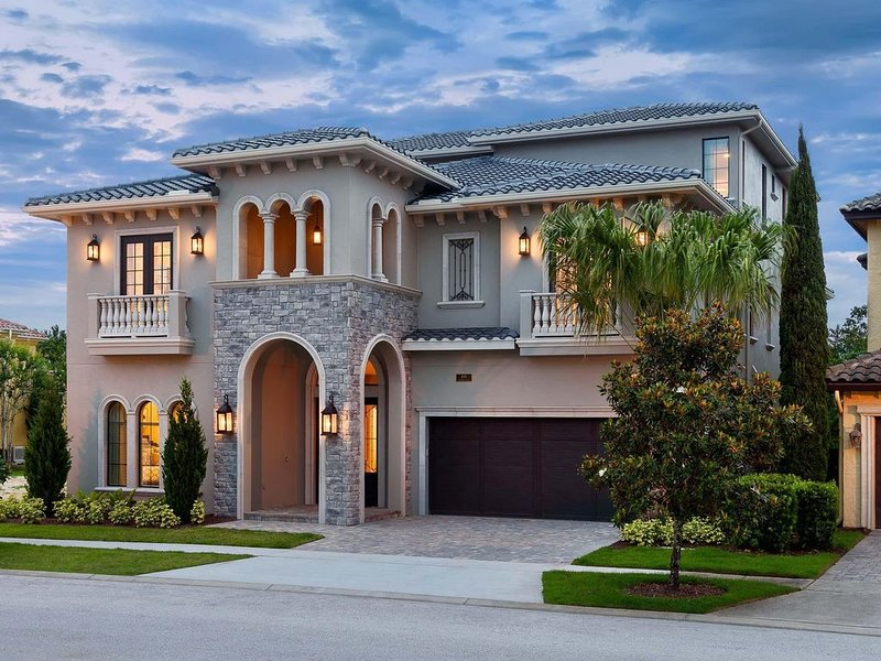 Enjoy an unforgettable Orlando getaway in this 7,921 square-foot home