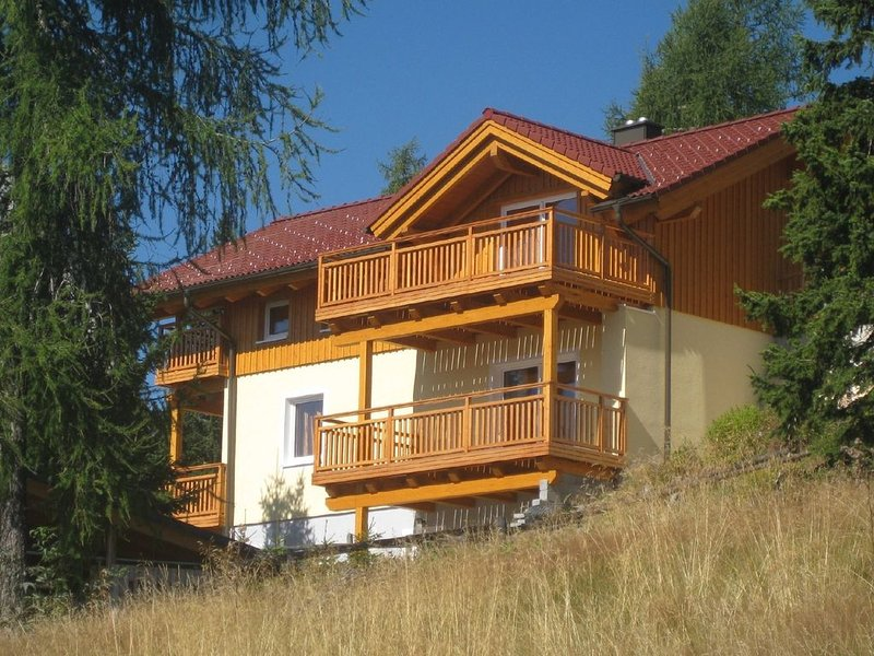 'HAUS ANDREAS 1' -  HOCHRINDL 1 Appartamento al piano strada, holiday rental in Sirnitz-Sonnseite