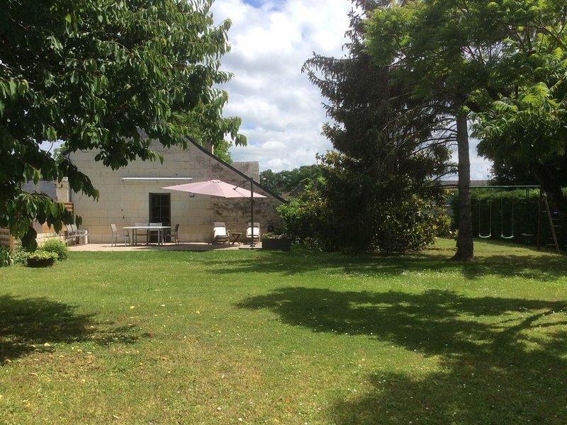 Bienvenue au gîte des Fromentaux près de Chinon, location de vacances à Indre-et-Loire