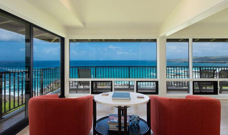 Kapalua Bay Villa Spectacular 180*  Ocean Views!, alquiler de vacaciones en Kapalua