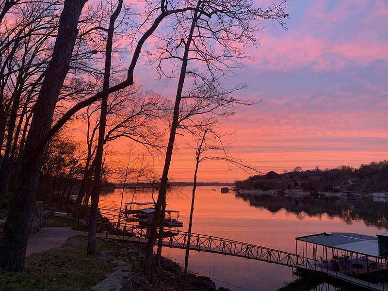 Grand Lake has the most beautiful sunsets. Don't miss out.
