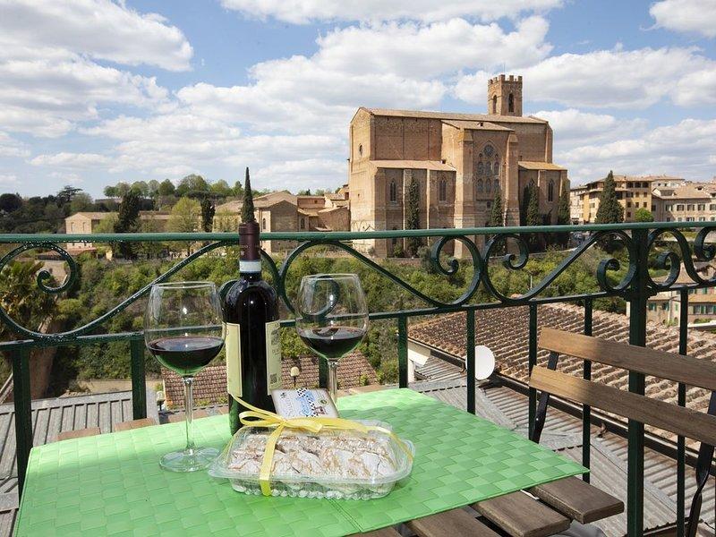 Casa Siena Apartment, holiday rental in Moltacino