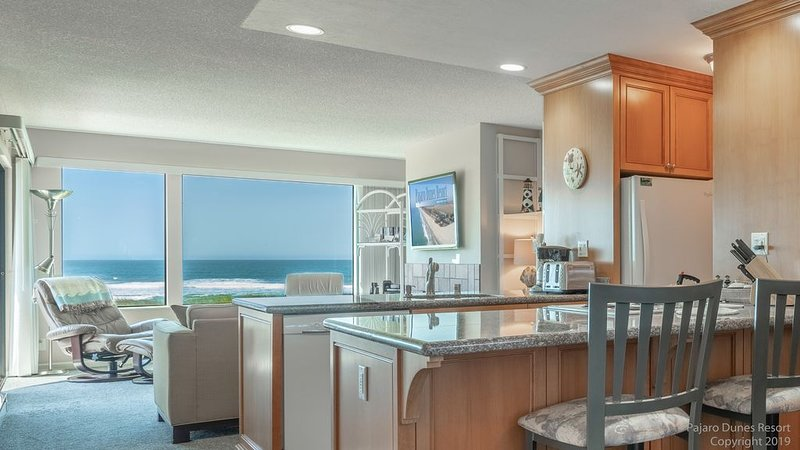 *Two Bedroom Condo- FULL OCEAN VIEW!*, holiday rental in Pajaro Dunes