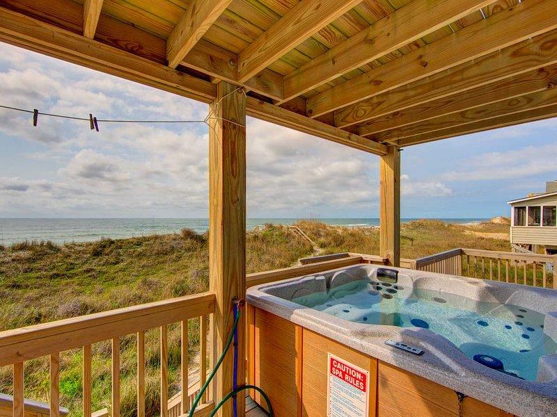 Middle Floor Hot Tub Deck