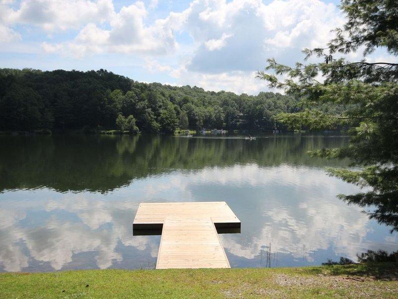 A Dock at Lake Atagahi