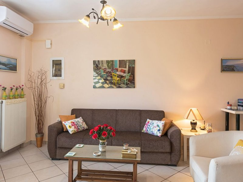 New apartment in the countryside near corfu town, holiday rental in Evropouli