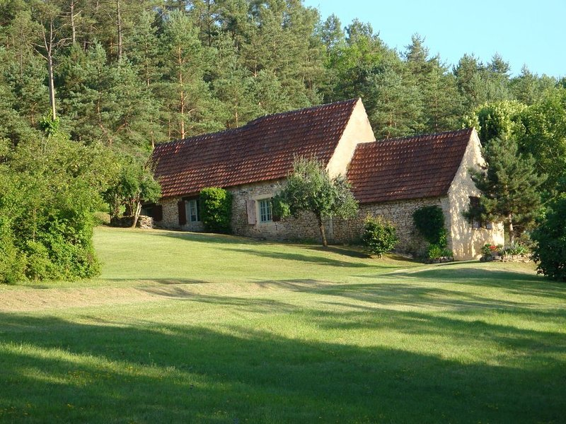 Inviting Holiday Home with Terrace, Garden, BBQ, Heating, location de vacances à Montignac