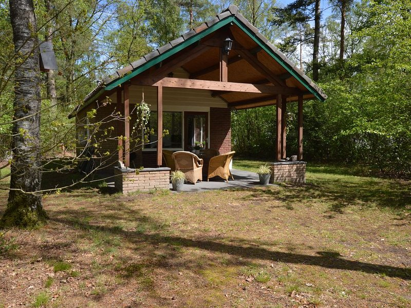 Detached holiday home with sauna, large garden and covered terrace, vacation rental in Ell