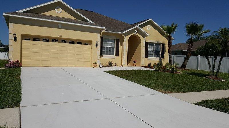 Elegant Single Family home near Tampa/Orlando,Bush Gardens, Adventure Island ., alquiler de vacaciones en Lutz