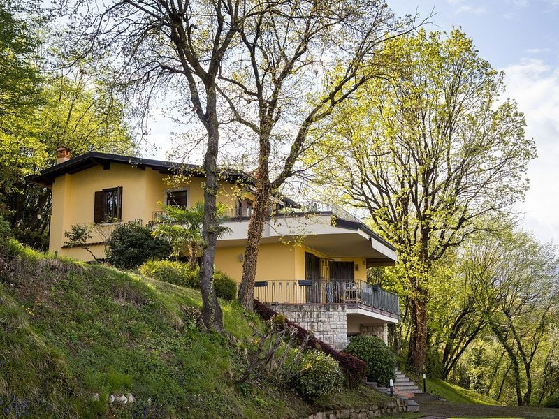 Upscale Villa in Salò Lombardy with swimming pool, holiday rental in Villanuova sul Clisi