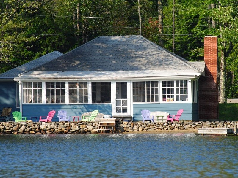 Beautiful lakefront cottage on Mountainview Lake in Sunapee, NH, vacation rental in Washington