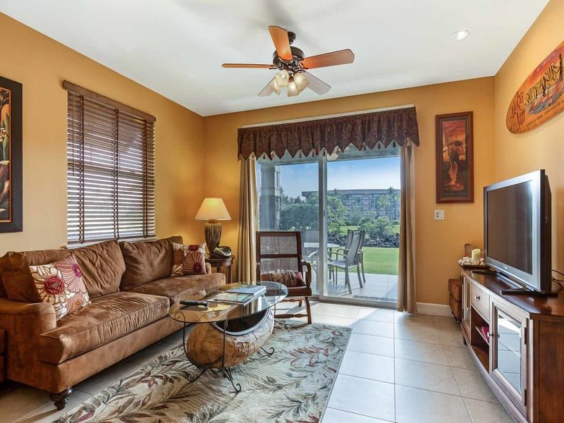 Live Hawaii-Style! Ground Floor Lanai w/Grill, Kitchen, WiFi, AC–Halii Kai Waiko, location de vacances à Kohala Coast