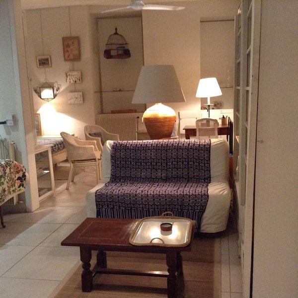 Dans petit hôtel particulier  en plein centre ville,  appartement 45m2, location de vacances à Perpignan